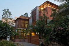 The Green House by Hiren Patel Architects