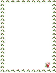 Letter Border Templates Free 1 Templates Example Templates Example