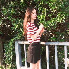 Ulzzang x Kim nahee x ulzzang style Pretty Korean Girls, Cute Korean, Korean Style, Ulzzang Fashion, Korean Fashion, Asian Woman, Asian Girl, Ulzzang Korean Girl, Ulzzang Style