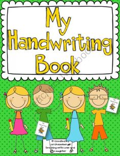Handwriting Practice Booklet product from Lori-Rosenberg on TeachersNotebook.com