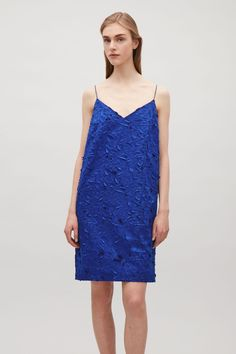COS | Appliqué slip-on dress