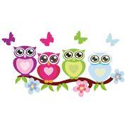 Hoot Hoot! Love owls decal.