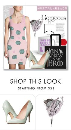 """""""mortalhreads"""" by mana-man ❤ liked on Polyvore featuring Kate Spade and Amara"""