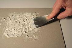 Acrylique - travailler une charge à la spatule
