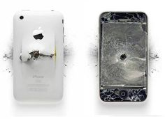 It's amazing how many smart phones you can destroy when doing battle with evil forces