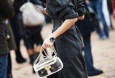 streetstyle foto settimana della moda di milano fashion week outfit look borsa chanel