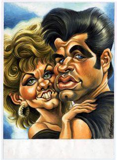Grease. Sandy & Danny