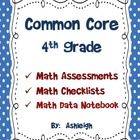 @Shannon ChildressThis product contain a brief 1-page assessment for each of the fourth grade Common Core Standards. There is also a Common Core Standards math check...
