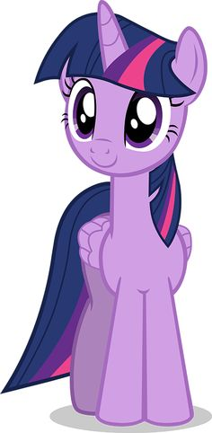 Twilight Sparkle (Alicorn) Vector made in Adobe Illustrator, version 2 improvements include: Smoothing on horn, better wing shape, added more show accurate mane lines, eye shines corrected