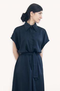 The Midnight Blue Jumpsuit Blue Jumpsuits, Midnight Blue, Aurora, Wrap Dress, Shirt Dress, Studio, Shirts, Dresses, Fashion