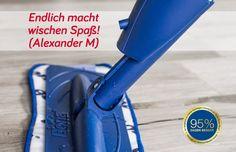 Endlich macht wischen Spaß! (Alexander M)    #hygiene #allergien Golf Clubs, Grinding Machine, Allergies