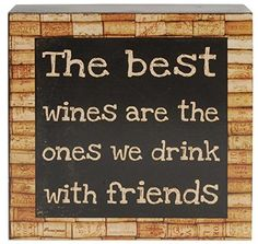 Best Wines Wall Box Sign 6 x 6 Inches -- Find out more about the great product at the image link. (Note:Amazon affiliate link) #HomeGadgets