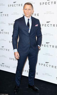 c7ed590c76394 Actor Daniel Craig attends the Spectre' Paris Premiere at Le Grand Rex in  Paris, France on (October
