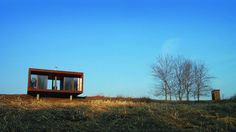 | Arado Weehouse | A modular home perched on a hill in Wisconsin - ahh the peace and quiet!