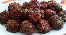 Sweet and spicy smoked meatballs Food Network Recipes, Cooking Recipes, Healthy Recipes, Greek Recipes, Light Recipes, Vegan Patties, The Kitchen Food Network, Party Finger Foods, Sweet And Spicy