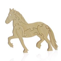 Wood Horse Puzzle
