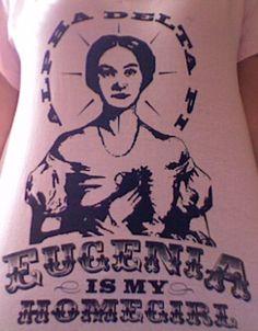Eugenia Fitzgerald. Alpha Delta Pi shirt.