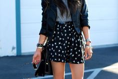 I really like the print on her shorts!