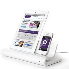 Converge docking station provides a sharp-looking display stand and USB hub for your mobile devices.