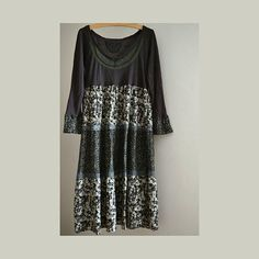 Dress cotton sleeves loose ruffles dress boho dress