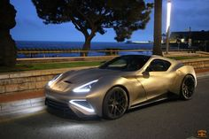Ti-tillating: Icona Vulcano is the world's first titanium-bodied #supercar