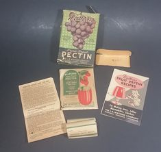 1920s Watkins Pectin Paper Cardboad Advertising Box with Original Contents https://treasurevalleyantiques.com/products/1920s-watkins-pectin-paper-cardboad-advertising-box-with-pectin-in-package-labels-instructions-and-recipes #Antiques #Vintage #1920s #20s #Twenties #Watkins #Pectin #Ingredients #Recipes #Jam #Jelly #Cardboard #Packaging #GeneralStore #Collectibles #Decor #Vancouver #Toronto #Montreal