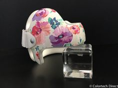 Watercolor Flower DOC Band Wrap