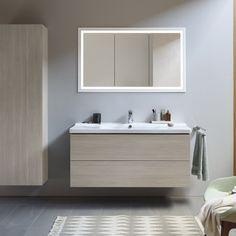 Cuarto de baño con muebles Vera de Duravit - Banium