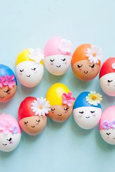 decorate some boiled eggs | kids crafts
