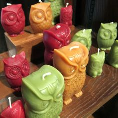 GreenTree Home Candle's bittersweet, sage & terracotta Owls making a home at Red Orchard in Bethesda, MD. Unique Candles, Home Candles, Beautiful Candles, Best Candles, Candle Lanterns, Bougie Candle, Candle Picture, Carved Candles, Homemade Candles