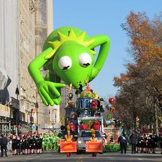 Professor Watermelon: WEEKLY MUSE: The Macy's Thanksgiving Day Parade