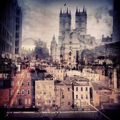 New York + London: Eine Sammlung von Doppelbelichtungen von Daniella Zalcman | Yatzer