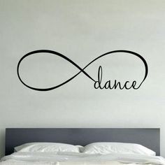 Infinity Dance - Wall Vinyl Decal Sticker Family Kids Room Forever Love Music | Home & Garden, Home Décor, Decals, Stickers & Vinyl Art | eBay!