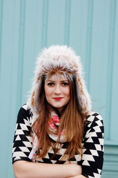 See Kate Sew Trapper Hat Sewing Pattern - The Men's and Women's Trapper Hat is the adult version of the Arctic Trapper hat . This is a classic cold weather staple! Line it in sherpa or use faux fur to give this hat a warm and. Hat Patterns To Sew, Clothing Patterns, Sewing Patterns, Sewing Tutorials, Sewing Projects, Fox Hat, Wide-brim Hat, Trapper Hats, Man Images
