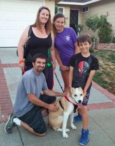 Durante los fines de semana, mi familia y yo salimos a cenar o ir a pasear con nuestros perros.
