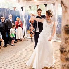As the bride and groom, get out on the dance floor! As it will encourage your guests to do the same.  #weddingdj #naplesdj #wedding #weddingguests #weddingdance  Photo Source: https://www.flickr.com/photos/kaythaney/28373908890/
