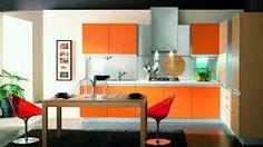 kitchen orange – Vyhledávání Google Contemporary Kitchen Tables, Modern Kitchen Furniture, How To Clean Furniture, Home Decor Kitchen, Classic Furniture, Luxury Furniture, Furniture Cleaning, Cheap Furniture, Home Design