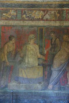 More Dionysian fresco details | Flickr - Photo Sharing! Pompeii