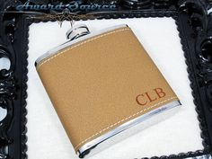 Monogram Flask  All Occasions  6 oz Stainless by AwardSourceLLC, $12.50