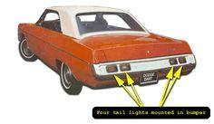 1967-1972 Dodge Dart Identification Guide