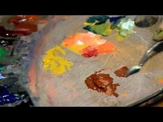 Técnica al óleo con ocres - YouTube