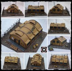 Barracks, Buildings, Scratch Build, Terrain