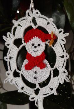 Crochet angel Christmas ornament Home decor Crochet Christmas Wreath, Crochet Christmas Decorations, Crochet Decoration, Christmas Knitting, Crochet Curtains, Crochet Doilies, Holiday Crochet Patterns, Xmas Cross Stitch, Crochet Angels