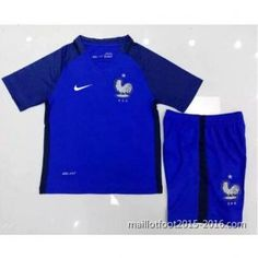 1ème maillot de foot Enfant France 2016 EUROPE