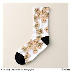 Mah Jong Tile Socks! Socks