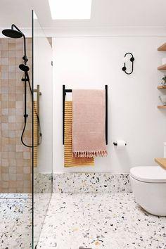 Diy Bathroom Remodel, Bathroom Renos, Laundry In Bathroom, Bathroom Ideas, Master Bathroom, Bathroom Designs, Bathroom Remodeling, Bathroom Organization, Small Bathroom Renovations