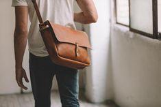 The Vintage Messenger Bag Vintage Leather Messenger Bag, Small Leather Bag, Leather Duffle Bag, Leather Laptop Bag, Leather Bags Handmade, Leather Shoulder Bag, Shoulder Bags, Duffle Bags, Laptop Bags