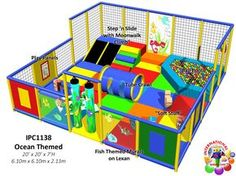 Commercial Indoor Toddler Playground Equipment Manufacturer Designs by Iplayco - Church-at-Rock-Creek - indoor playground for a children's ministry.  Designed, manufactured and installed by Internatinal Play Company - www.iplayco.com for more information. #weBUILDfun #Children'sMinistry #ChildrenMin