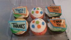 Thank you cupcakes - Amy's Crazy Cakes