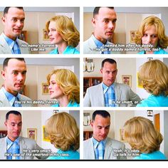 Forrest Gump! Makes me cry!